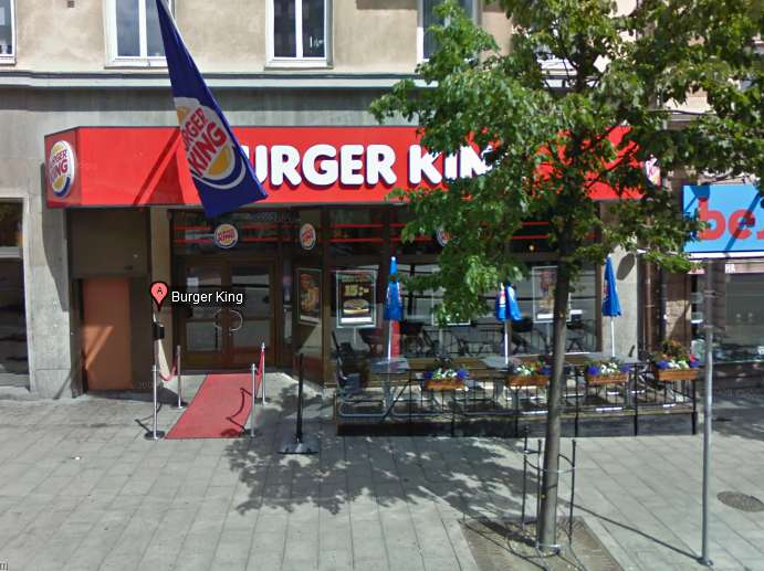 The Burger King at Odenplan