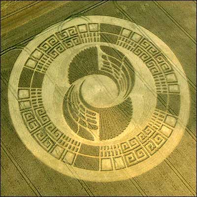 Crop Circles: Only for the British.