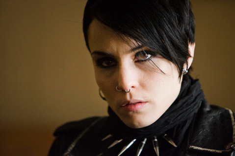 Noomi Rapace as The Girl With the Dragon Tattoo